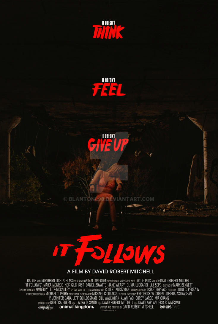 It Follows - Movie Poster by blantonl98