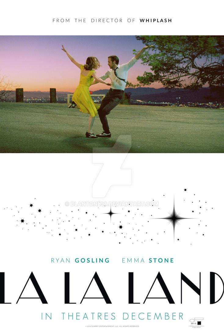 La La Land (Movie Poster) by blantonl98 ...