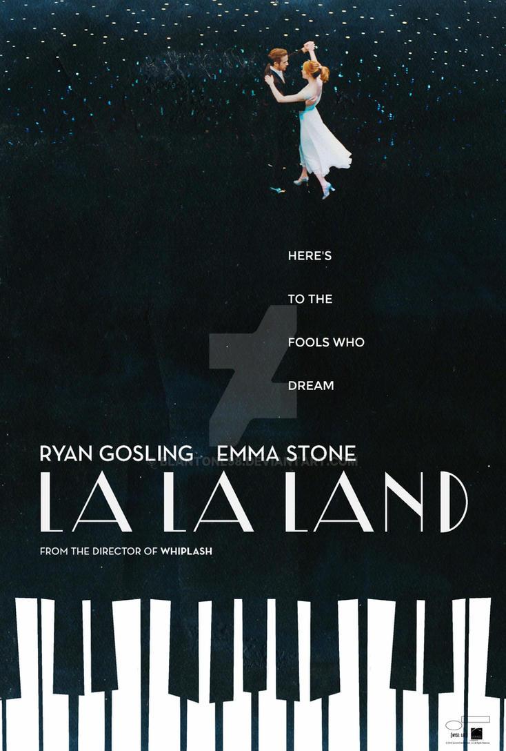 La Land Movie Poster 2 By Blantonl98