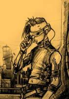 Peter Fabian cyberpunk version