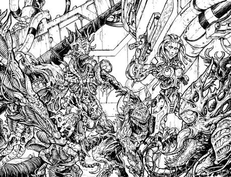 Bloodlust 3. wraparound cover (inked)