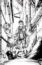 The children of the Neopolis - cover (inked)