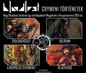 Bloodlust: Cryweni tortenetek - promocios kep by BloodlustComics