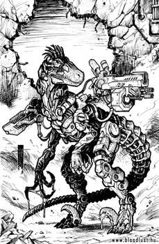 Roboraptor by Peter Fabian