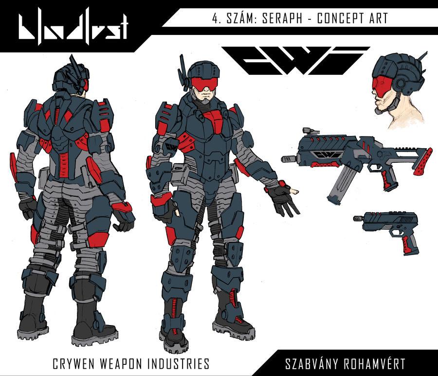 C.W.I. Szabvany rohamvert / Light infantry by BloodlustComics