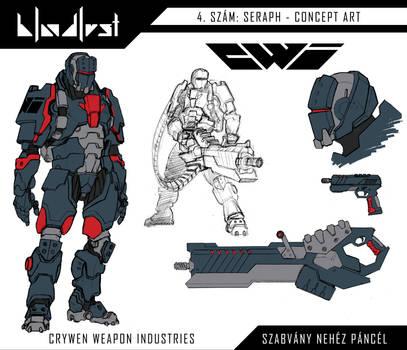 C.W.I. - Szabvany nehez pancel / Heavy infantry