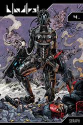 Bloodlust 4 - Seraph comic cover