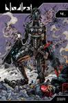 Bloodlust 4 - Seraph comic cover by BloodlustComics