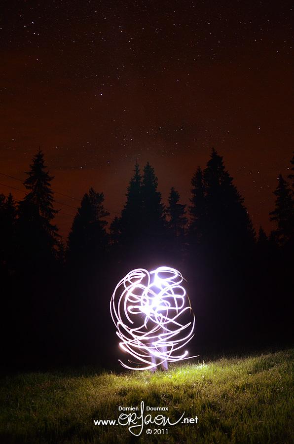 Light painting in Sweden by kil1k