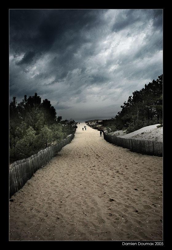 To the beach by kil1k