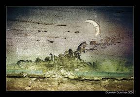 Quarter moon by kil1k