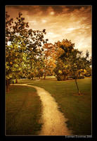 Autumn path by kil1k