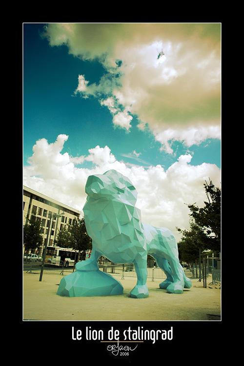 Stalingrad Lion by kil1k