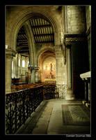 Inside St Marie's church by kil1k