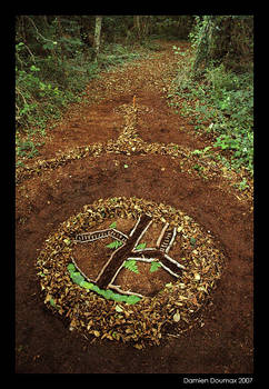 Abstract Land art