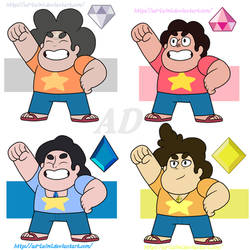 Steven Universe | All Diamond Sons AU by AD-Laimi