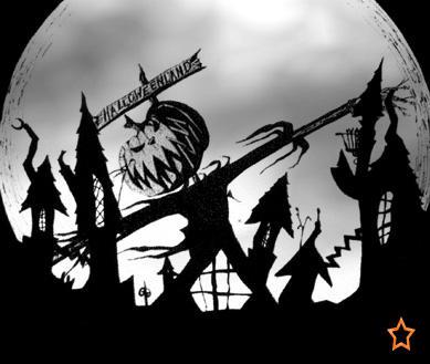 halloween town by blackxroseximmortal on deviantart
