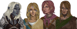 Female companions BG