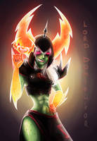 Lord Dominator (Wander Over Yonder) by HempseedCookie