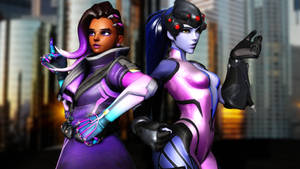 Widow and Sombra