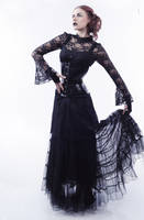 Gothic lady by Misplaceddream