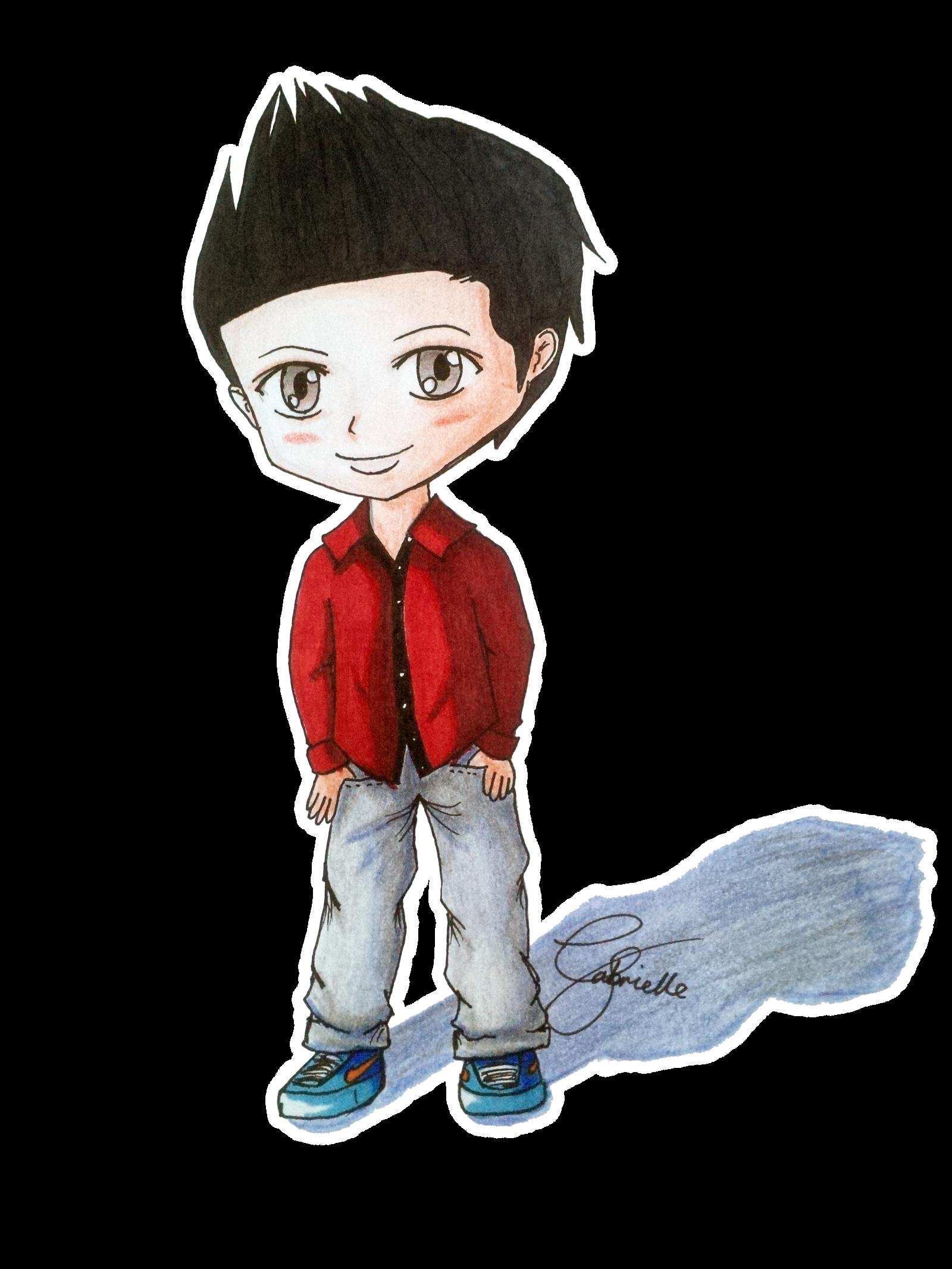 Chibi Boy By Gabbydong On Deviantart How To Draw A Chibi Boy