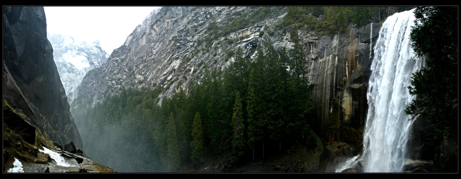 Valley of the Falls by Lesstraveledphotos