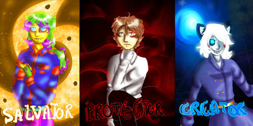 Salvator, Protector and Creator.