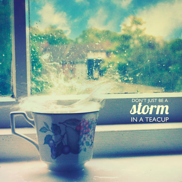 It is Wonderlandishly Stormy, Alice by UntamedUnwanted