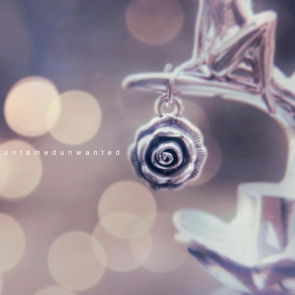 Silver Rose by UntamedUnwanted