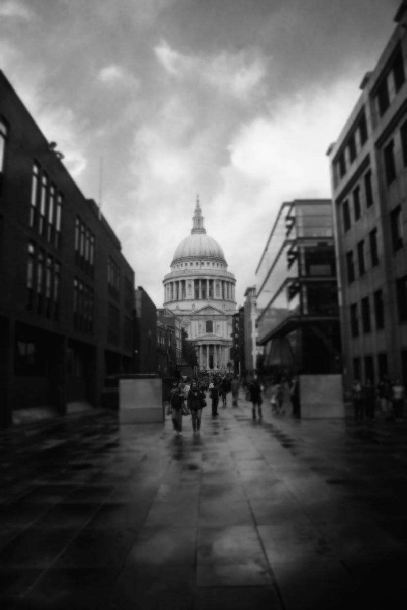 St. Paul's Cathedral. by UntamedUnwanted