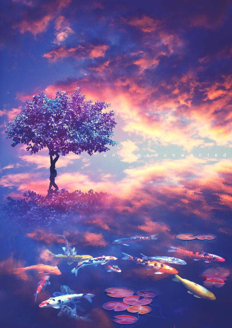 The Koi Tree by UntamedUnwanted