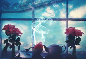 Winter Roses and Jasmine Tea by UntamedUnwanted