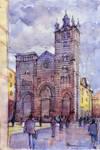 Cattedrale Schizzo Colori by lucamassone