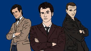 Doctor Who Colour by ManLikeYeti
