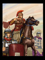 Roman Legion by Maqiangk