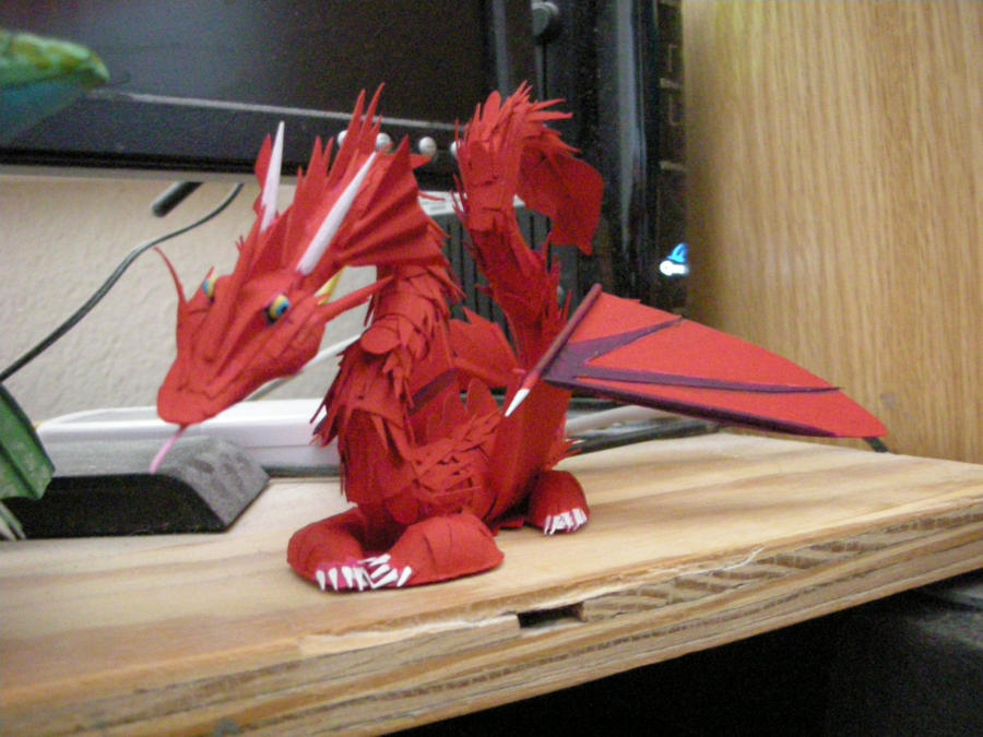 Second paper dragon picture 2 by rekalnus on deviantart second paper dragon picture 2 by rekalnus voltagebd Choice Image