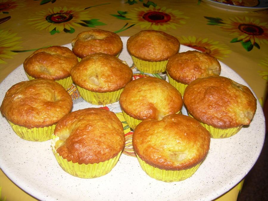 banana  muffins by trillu