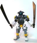 Lego samurai robot