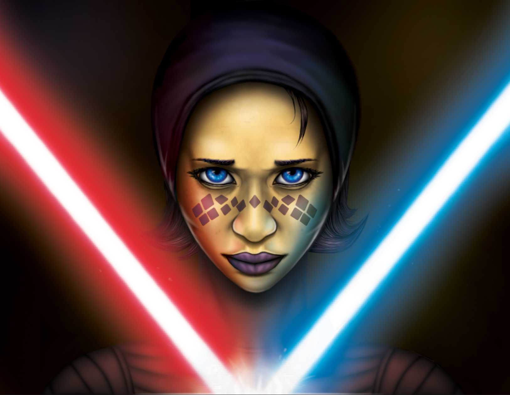 Clone Wars Portraits : Barriss Offee by PACMANFIRE