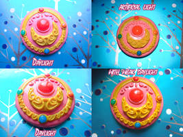 sailor moon  brooch by clefchan