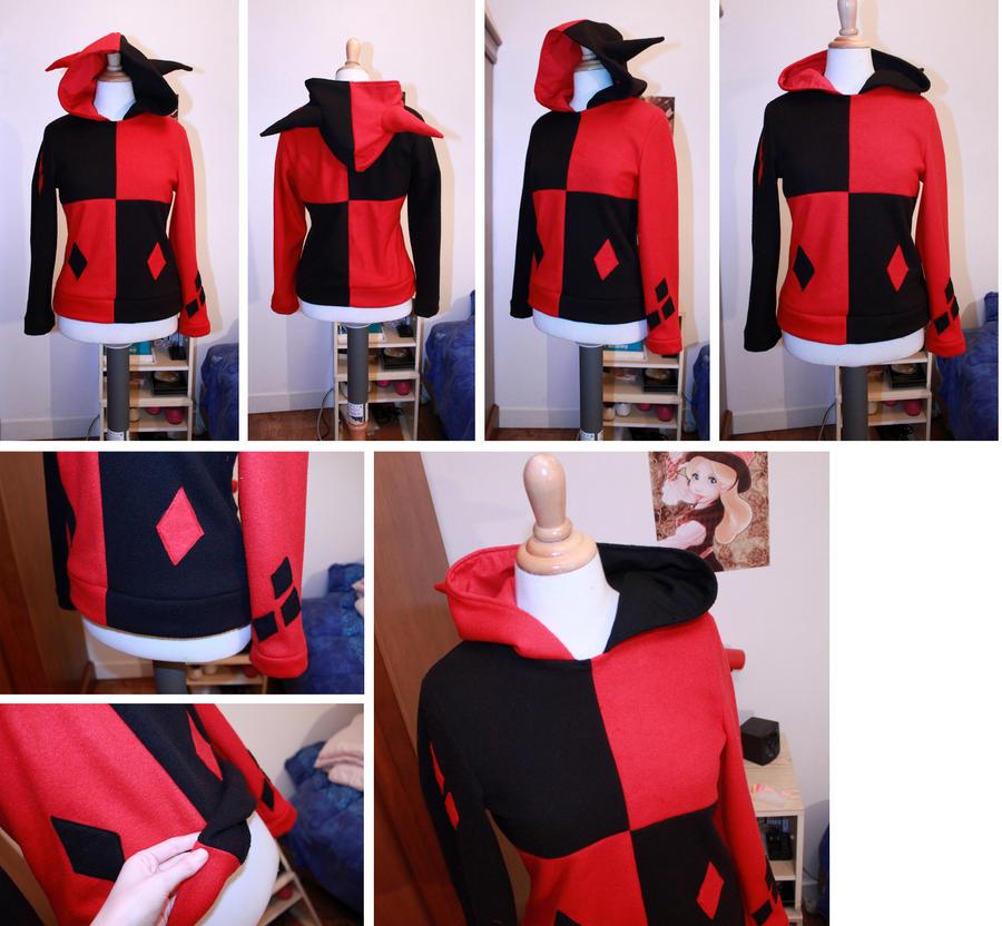Harley Quinn Hoodie by clefchan ... & Harley Quinn Hoodie by clefchan on DeviantArt