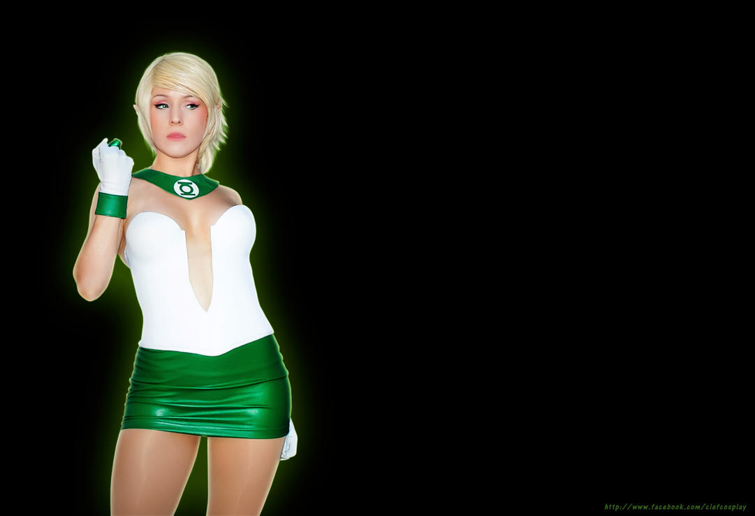 Arisia the green lantern by clefchan