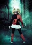 Harley Quinn dark city