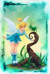 Tinkerbell Blue