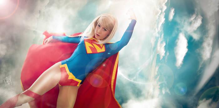 Super Girl New 52 cosplay Banner