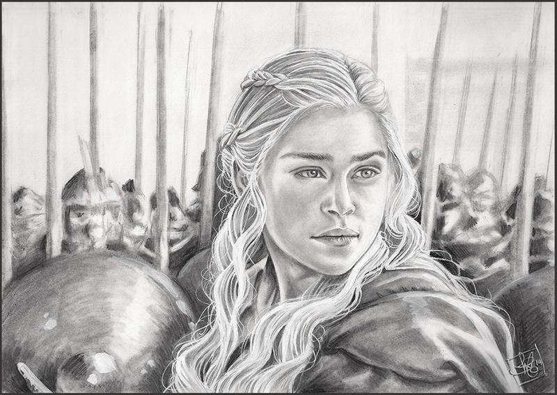 Daenerys Mhysa by clefchan