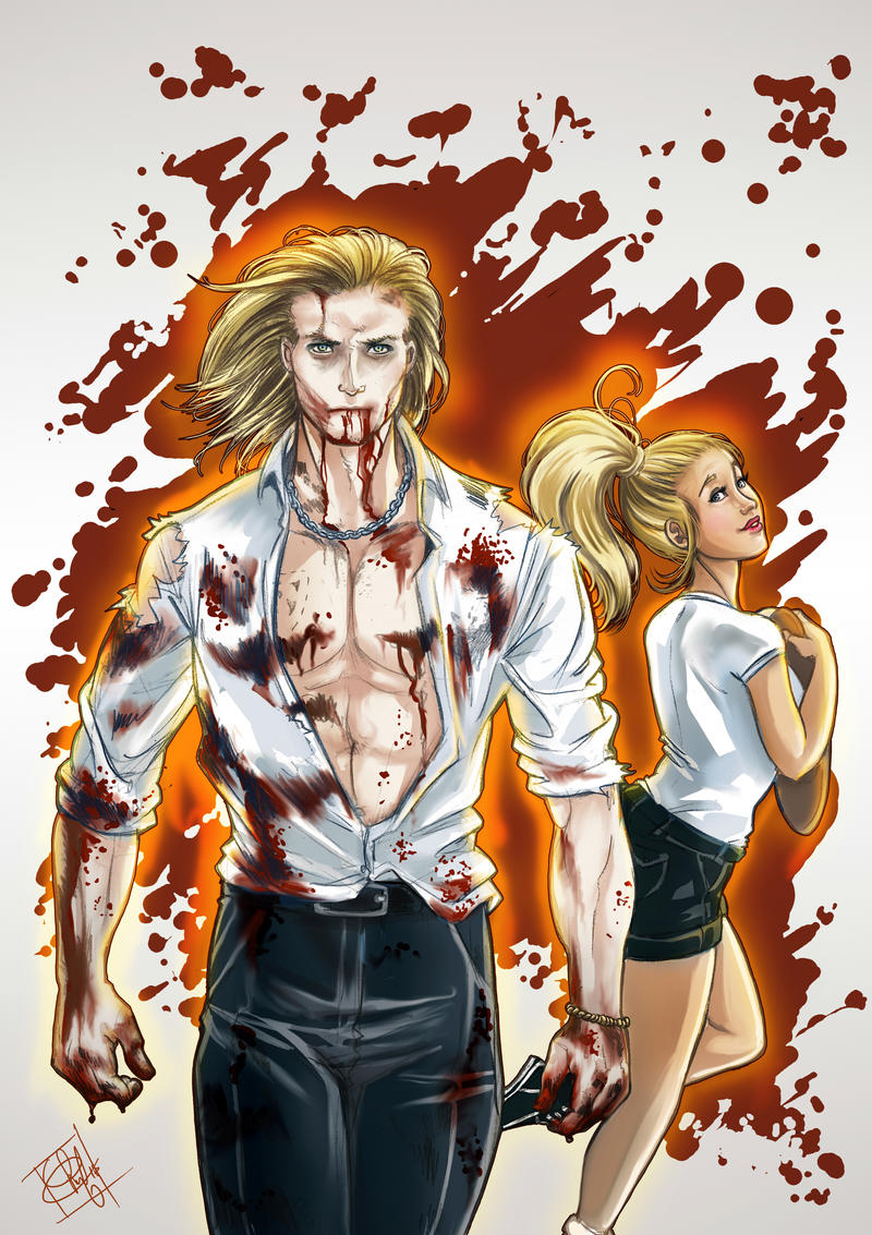True Blood Eric and Sookie by clefchan