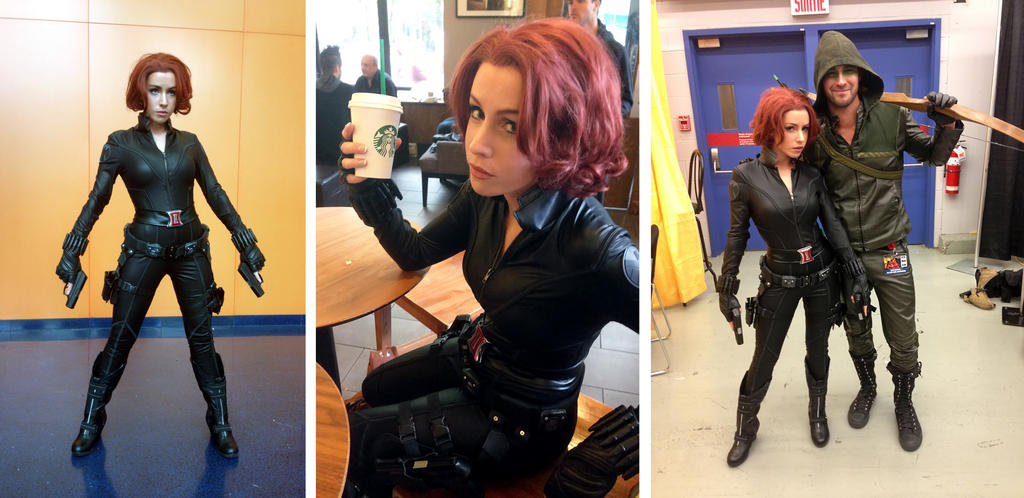 Black Widow cosplay preview by clefchan
