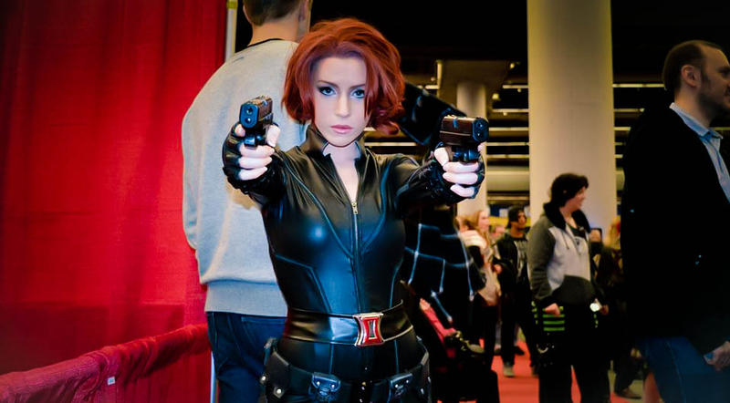 my id as black widow by clefchan
